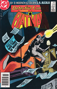 Cover Thumbnail for Detective Comics (DC, 1937 series) #544 [Canadian Newsstand]
