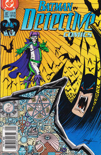 Cover Thumbnail for Detective Comics (DC, 1937 series) #617 [Newsstand]