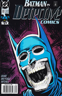 Cover for Detective Comics (DC, 1937 series) #620 [Newsstand]