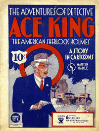 Cover Thumbnail for The Adventures of Detective Ace King (Humor Publishing Co., 1933 series) #1