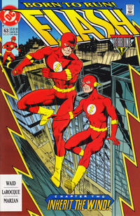Cover Thumbnail for Flash (DC, 1987 series) #63 [Direct]