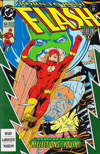 Cover Thumbnail for Flash (DC, 1987 series) #64 [Direct]