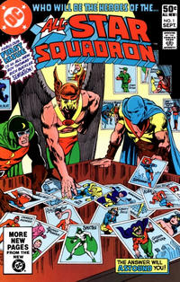 Cover for All-Star Squadron (DC, 1981 series) #1 [Direct Sales]