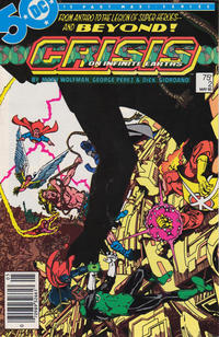 Cover Thumbnail for Crisis on Infinite Earths (DC, 1985 series) #2 [Newsstand]