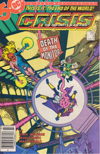 Cover Thumbnail for Crisis on Infinite Earths (DC, 1985 series) #4 [Newsstand]