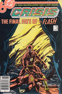 Cover Thumbnail for Crisis on Infinite Earths (DC, 1985 series) #8 [Newsstand]