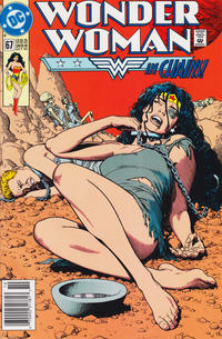 Cover for Wonder Woman (DC, 1987 series) #67 [Newsstand]