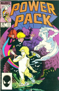 Cover Thumbnail for Power Pack (Marvel, 1984 series) #11 [Direct Edition]