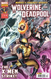 Cover Thumbnail for Wolverine and Deadpool (Panini UK, 2010 series) #12