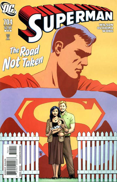 Cover for Superman (DC, 2006 series) #704 [Direct]