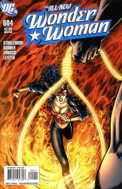 Cover for Wonder Woman (DC, 2006 series) #604