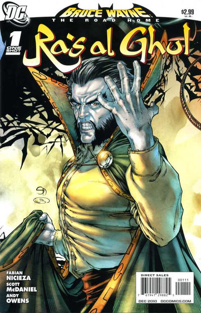 Cover for Bruce Wayne: The Road Home: Ra's al Ghul (DC, 2010 series) #1