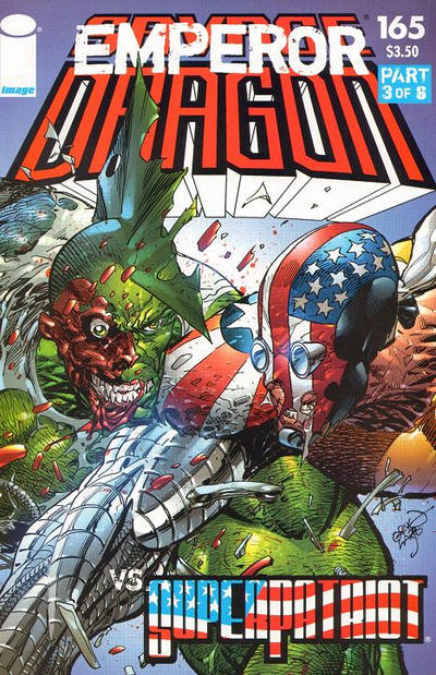 Cover for Savage Dragon (Image, 1993 series) #165