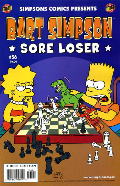 Cover for Simpsons Comics Presents Bart Simpson (Bongo, 2000 series) #56