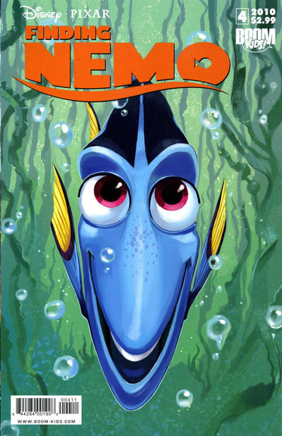 Cover for Finding Nemo (Boom! Studios, 2010 series) #4