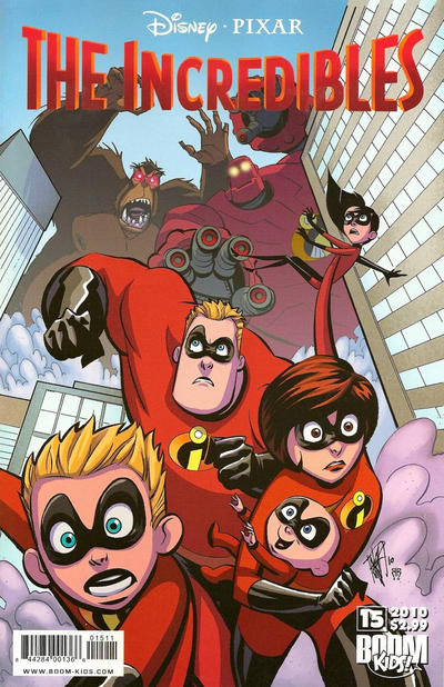 Cover for The Incredibles (Boom! Studios, 2009 series) #15
