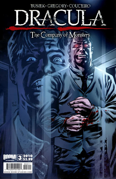 Cover for Dracula: The Company of Monsters (Boom! Studios, 2010 series) #3