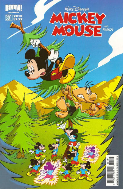 Cover for Mickey Mouse and Friends (Boom! Studios, 2009 series) #301
