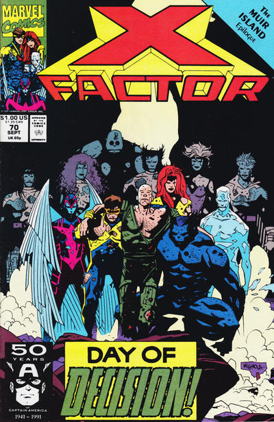 Cover for X-Factor (Marvel, 1986 series) #70 [Direct Market Edition]
