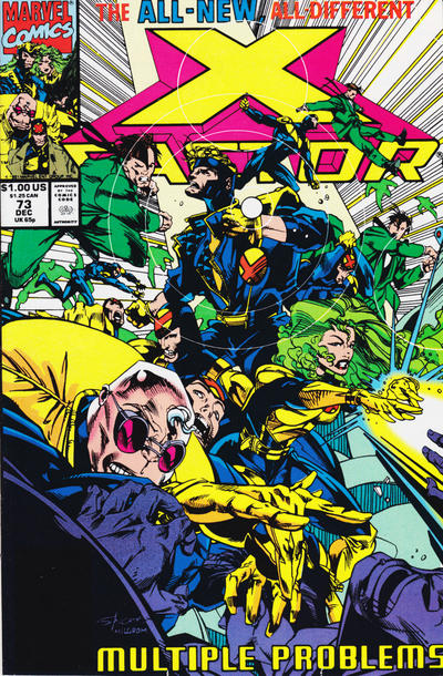 Cover for X-Factor (Marvel, 1986 series) #73 [Direct Edition]