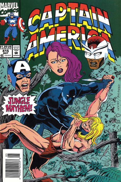 Cover for Captain America (Marvel, 1968 series) #415 [Direct Edition]