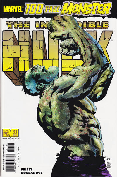 Cover for Incredible Hulk (Marvel, 2000 series) #33 (507) [Newsstand Edition]