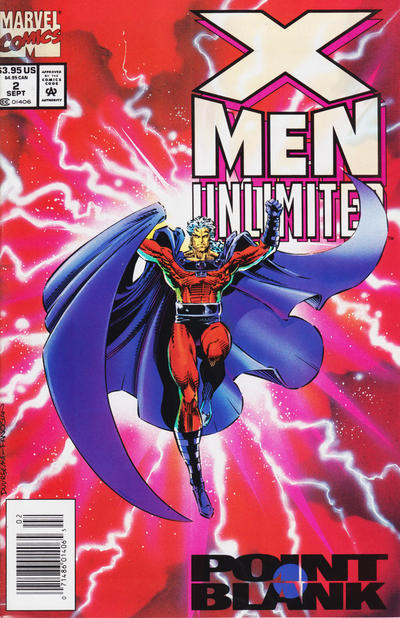 Cover for X-Men Unlimited (Marvel, 1993 series) #2 [Direct Edition]