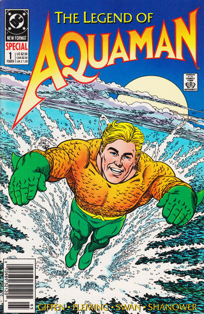 Cover for Aquaman Special (DC, 1989 series) #1 [Direct]