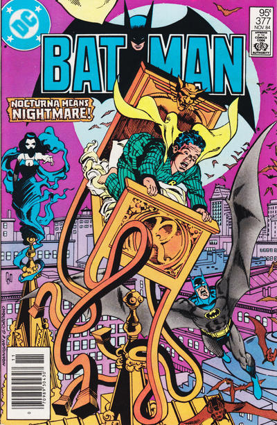Cover for Batman (DC, 1940 series) #377 [Direct]