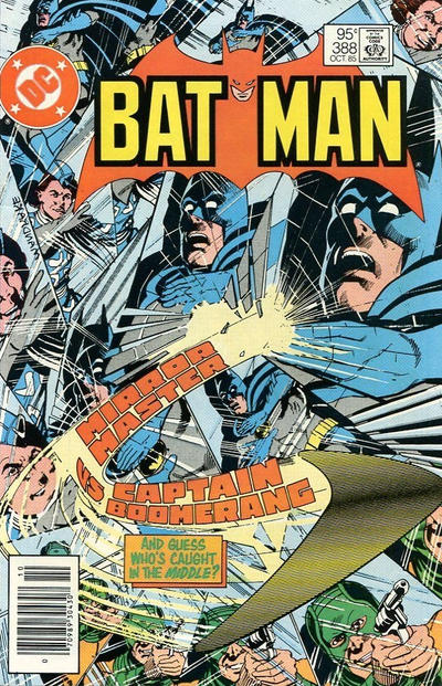 Cover for Batman (DC, 1940 series) #388 [Newsstand]