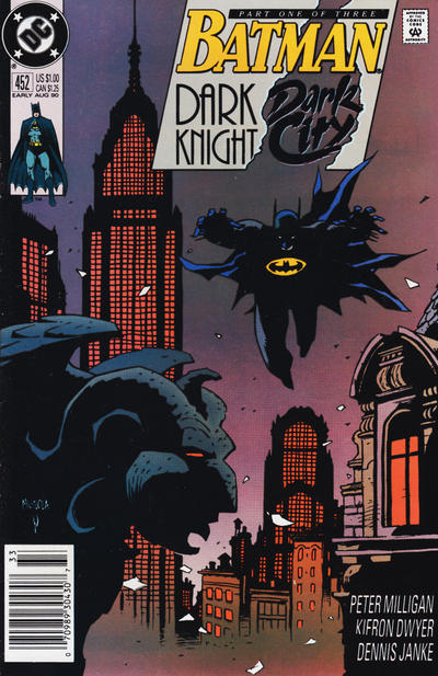 Cover for Batman (DC, 1940 series) #452 [Newsstand Edition]
