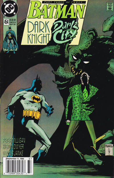 Cover for Batman (DC, 1940 series) #454 [Direct]