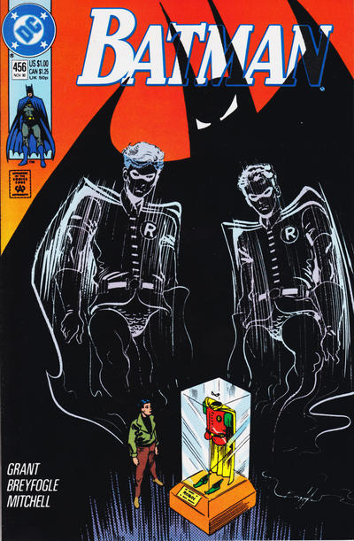 Cover for Batman (DC, 1940 series) #456 [Direct]