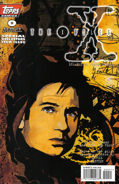 Cover for The X-Files (Topps, 1995 series) #0 [Regular Cover]