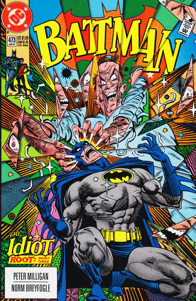 Cover for Batman (DC, 1940 series) #473 [Direct]