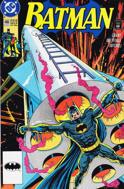 Cover for Batman (DC, 1940 series) #466 [Direct]