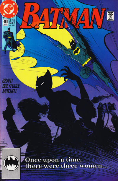 Cover for Batman (DC, 1940 series) #461 [Newsstand]