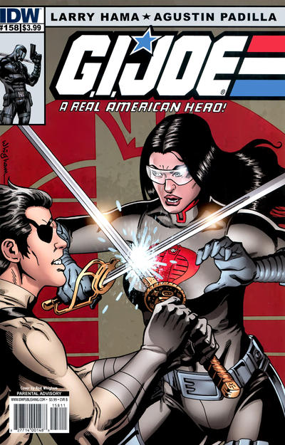 Cover for G.I. Joe: A Real American Hero (IDW, 2010 series) #158 [Cover A]