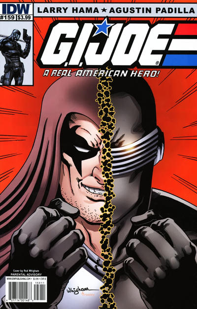 Cover for G.I. Joe: A Real American Hero (IDW, 2010 series) #159 [Cover RI]