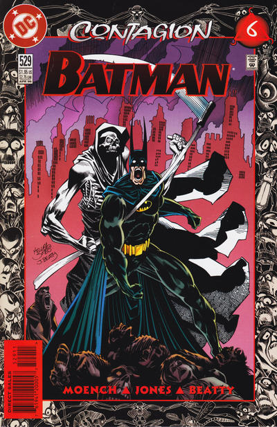 Cover for Batman (DC, 1940 series) #529 [Newsstand]