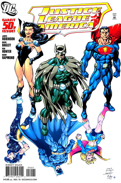 Cover for Justice League of America (DC, 2006 series) #50 [Variant Cover]