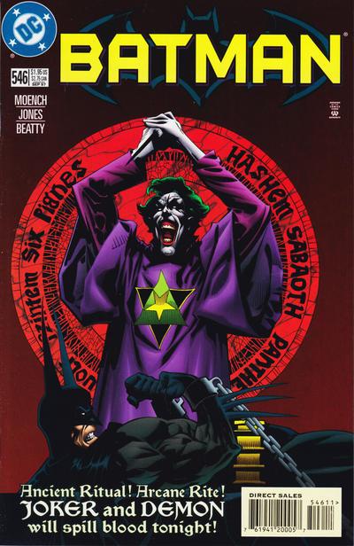 Cover for Batman (DC, 1940 series) #546 [Newsstand]