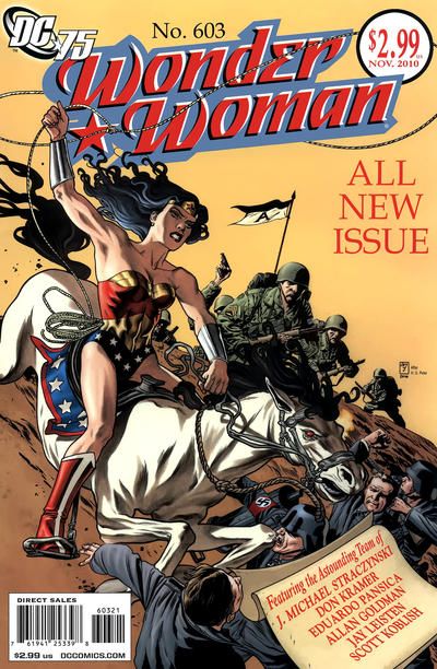 Cover for Wonder Woman (DC, 2006 series) #603 [J. H. Williams III Variant]