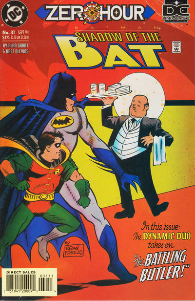 Cover for Batman: Shadow of the Bat (DC, 1992 series) #31 [Direct]