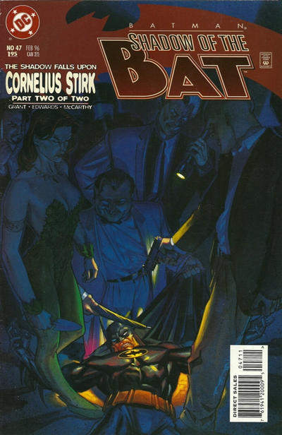 Cover for Batman: Shadow of the Bat (DC, 1992 series) #47 [Newsstand]