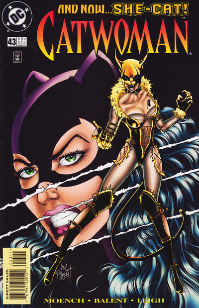 Cover for Catwoman (DC, 1993 series) #43 [Newsstand]