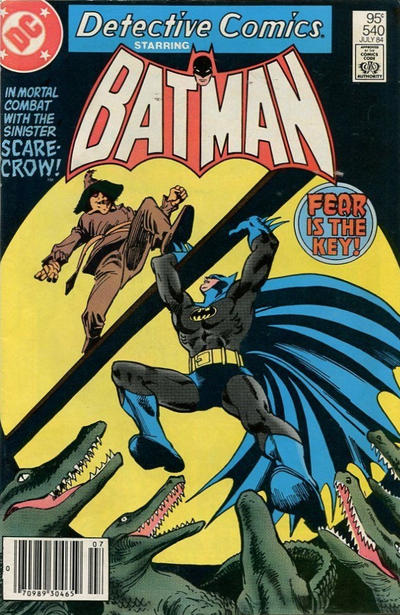 Cover for Detective Comics (DC, 1937 series) #540 [Canadian Newsstand]