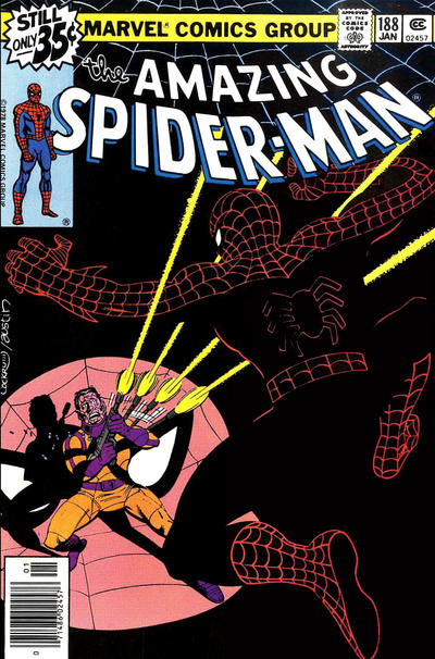 Cover for The Amazing Spider-Man (Marvel, 1963 series) #188 [Newsstand Edition]