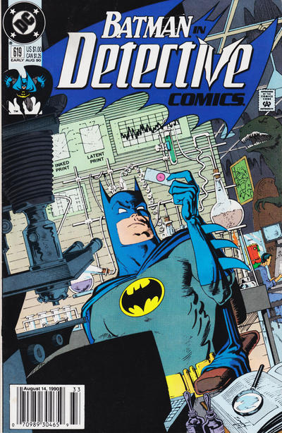 Cover for Detective Comics (DC, 1937 series) #619 [Direct]