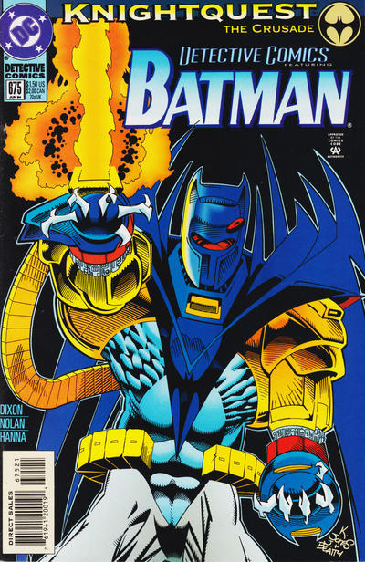Cover for Detective Comics (DC, 1937 series) #675 [Collector's Edition]